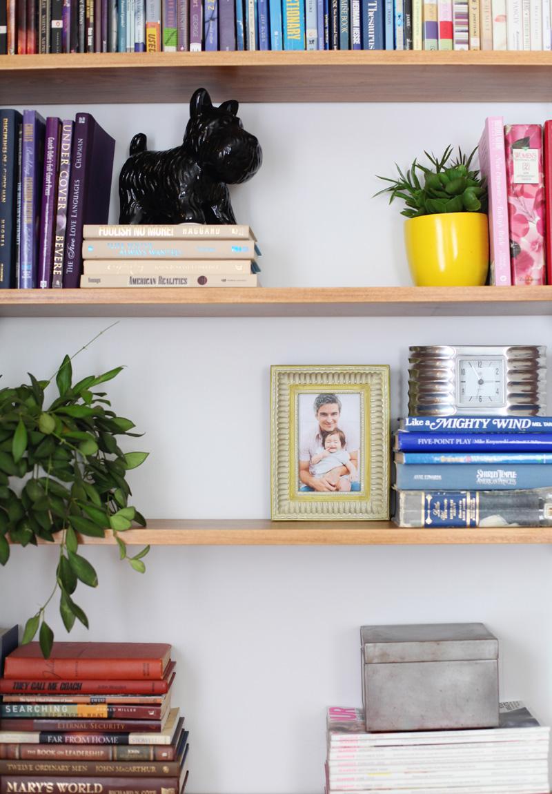 Build & Organize A Corner Shelving System - A Beautiful Mess