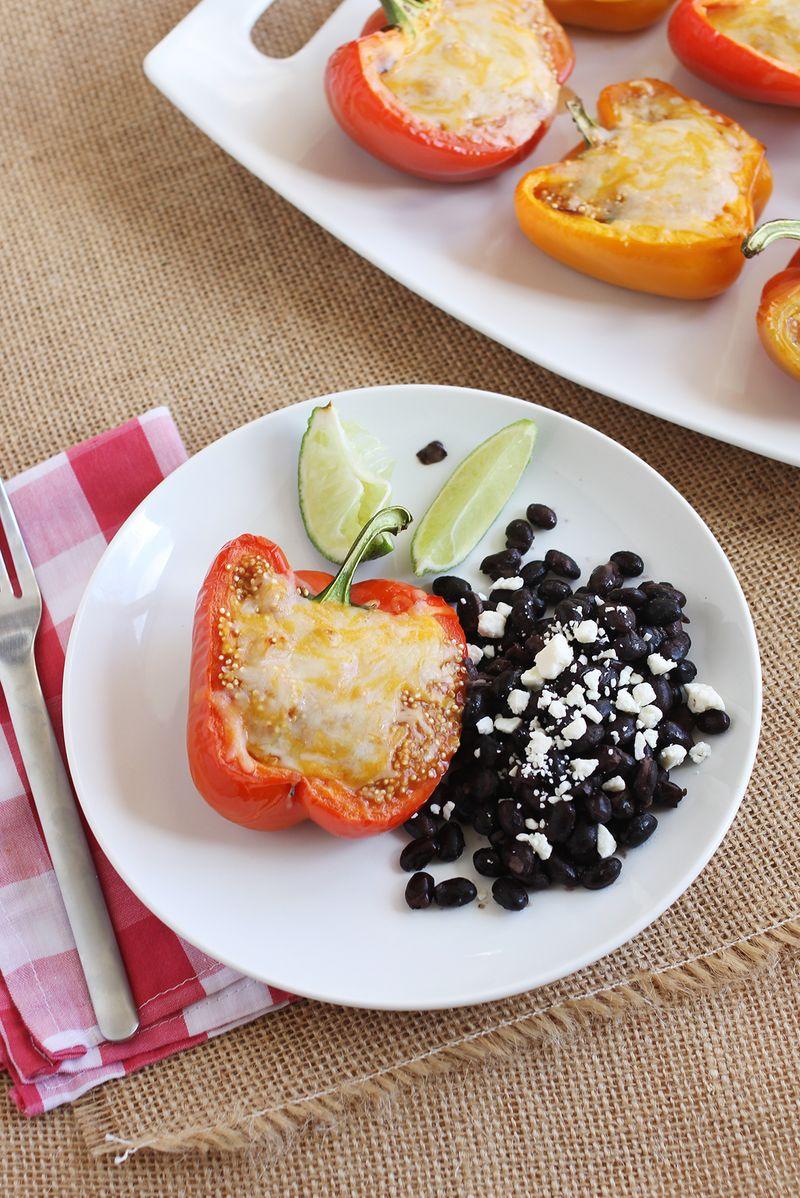 Best quinoa stuffed bell peppers