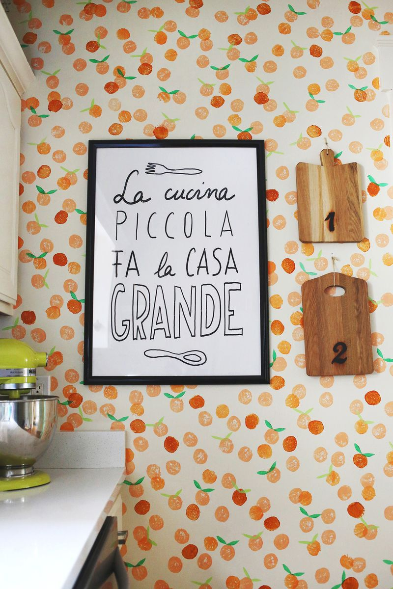10 statement wall ideas a beautiful mess for Kitchen decoration diy