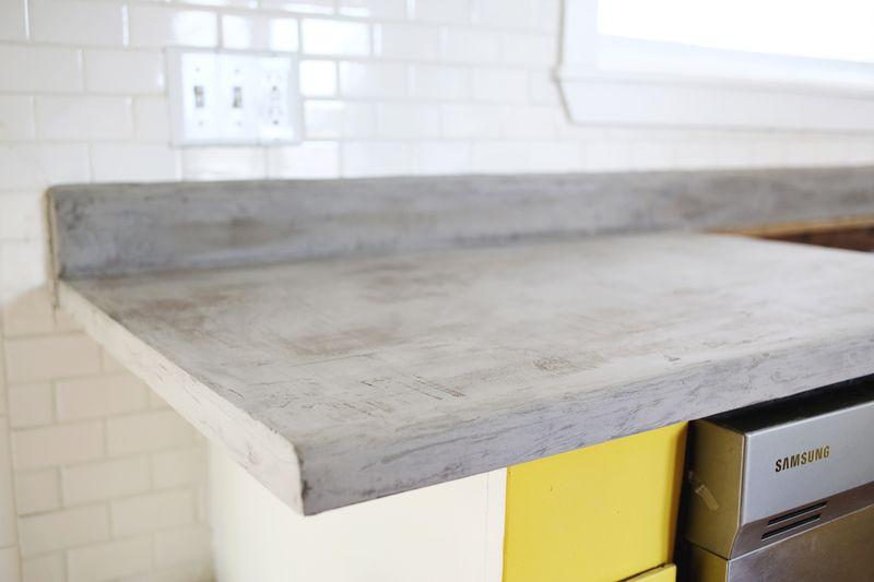 Concrete Countertop DIY A Beautiful Mess