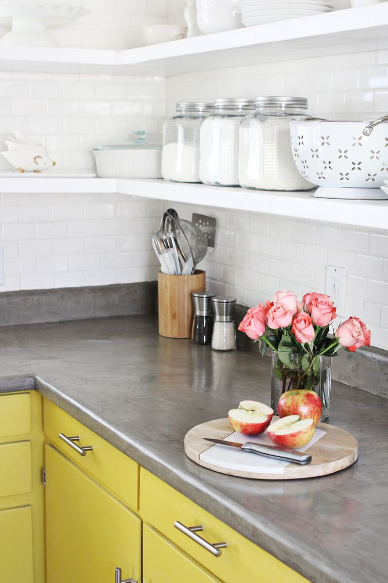 Concrete Countertop Diy A Beautiful Mess