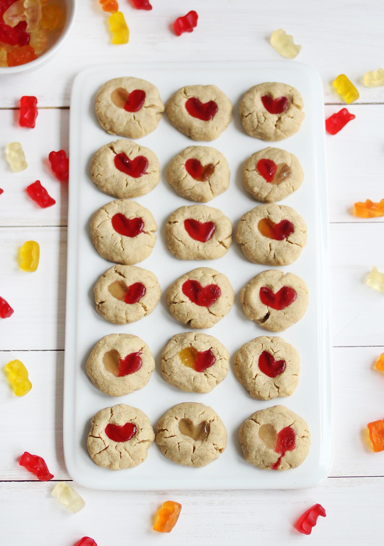 Gummy bear cookies