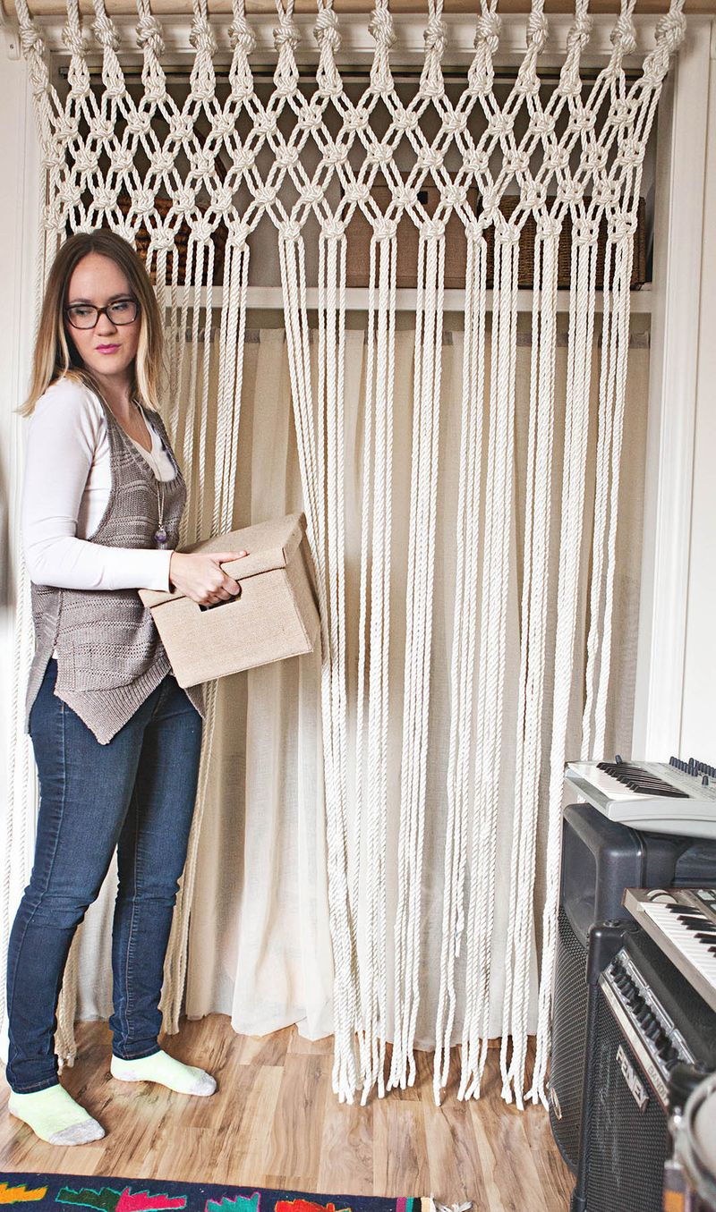 How to macrame rope
