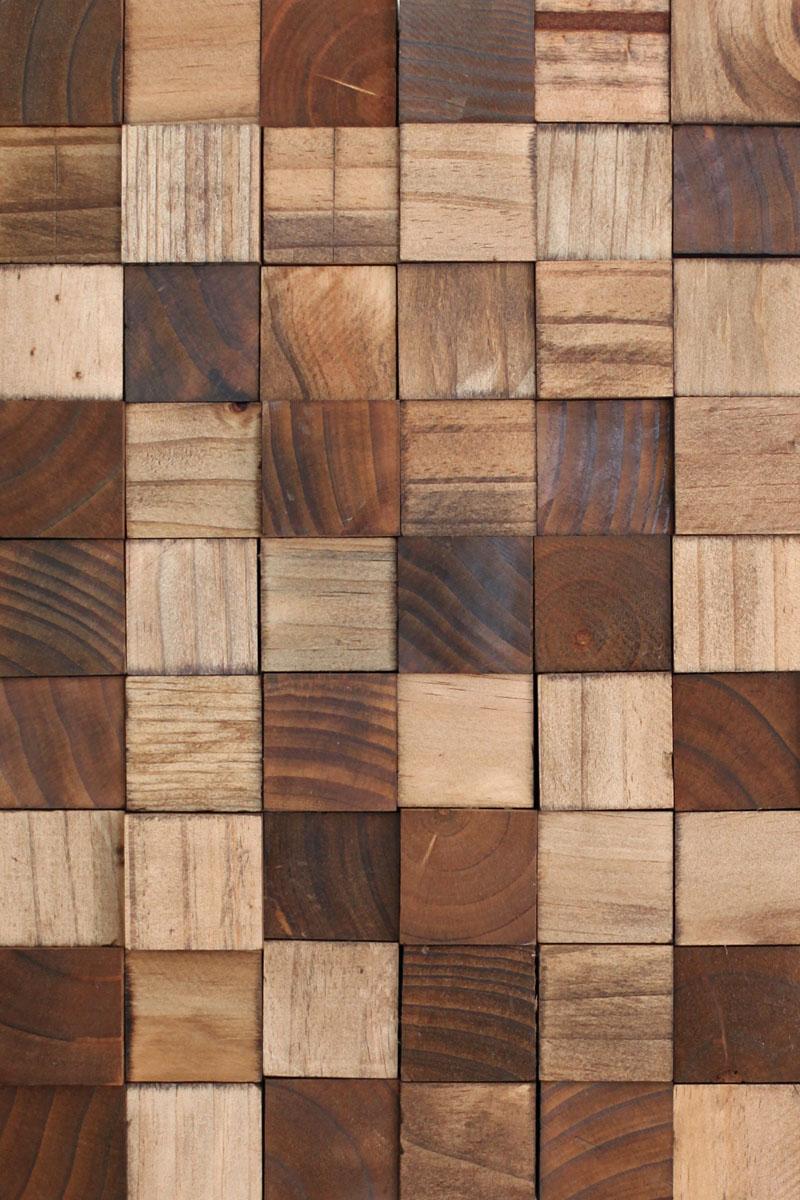 Wooden mosaic wall art diy a beautiful mess - Wall designs with wood ...