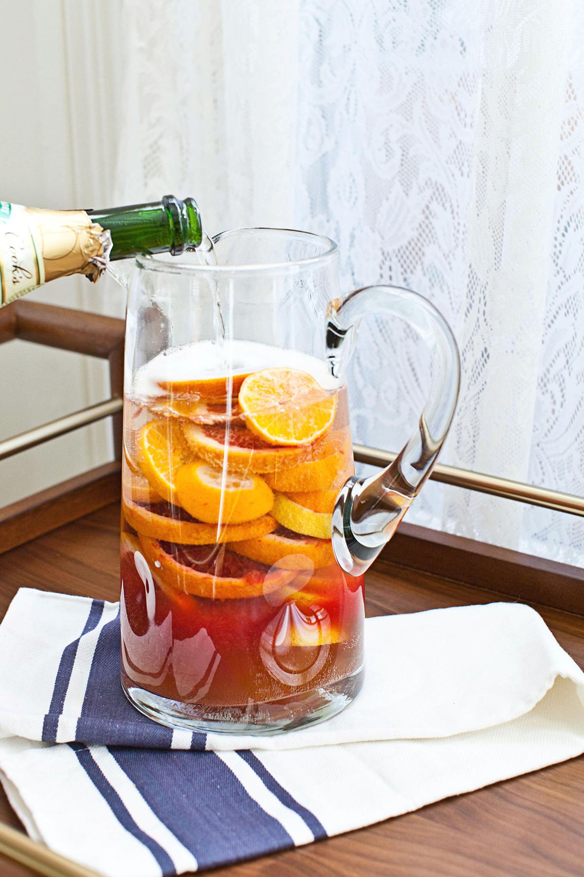 Blood Orange Sangria (click through for the full recipe!)