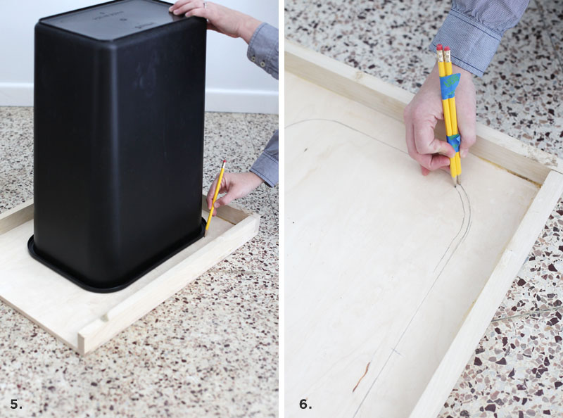 Convert a Cabinet into a Pull-Out Trash Bin – A Beautiful Mess