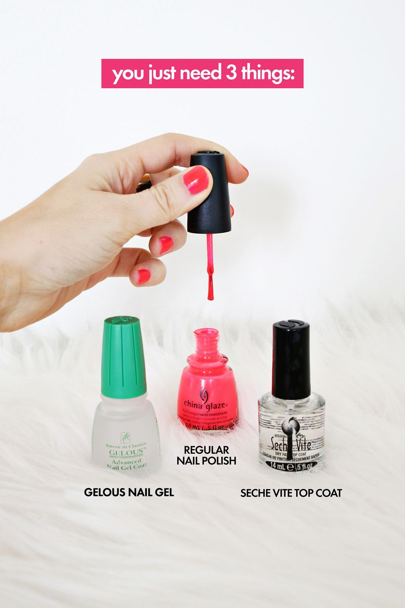 Do Your Own Gel Manicure at Home! - A Beautiful Mess