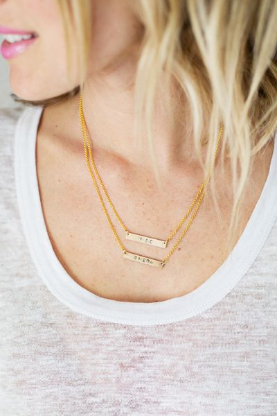 Make Your Own Hand-Stamped Necklace