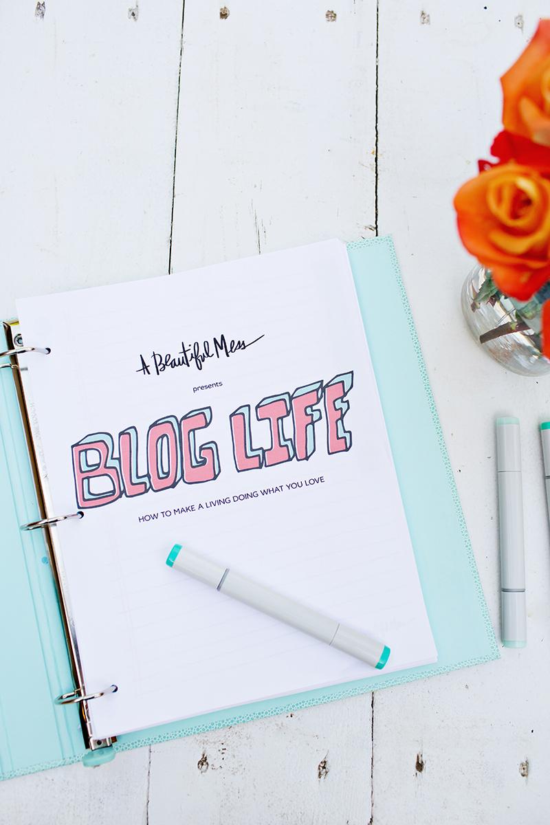 Blog Life E-Course Printables