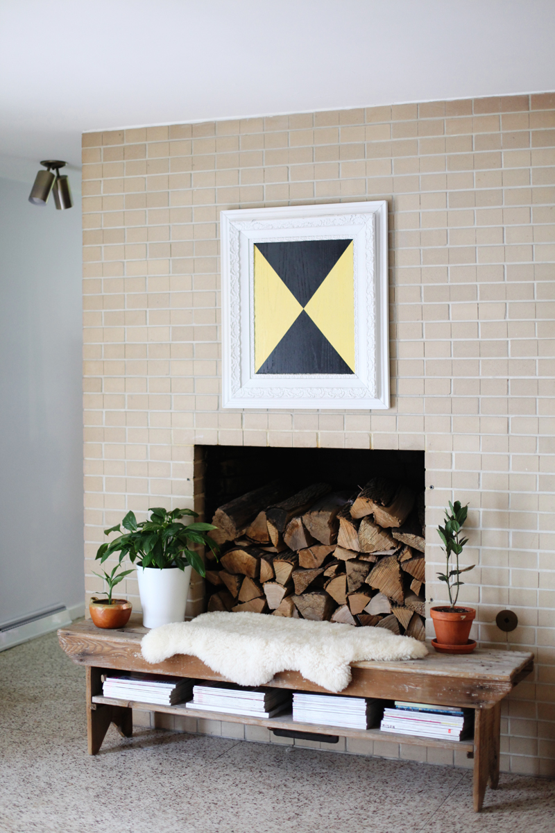 Make This Bold And Textural Artu2014 Perfect For Mixing With Antique Frames!