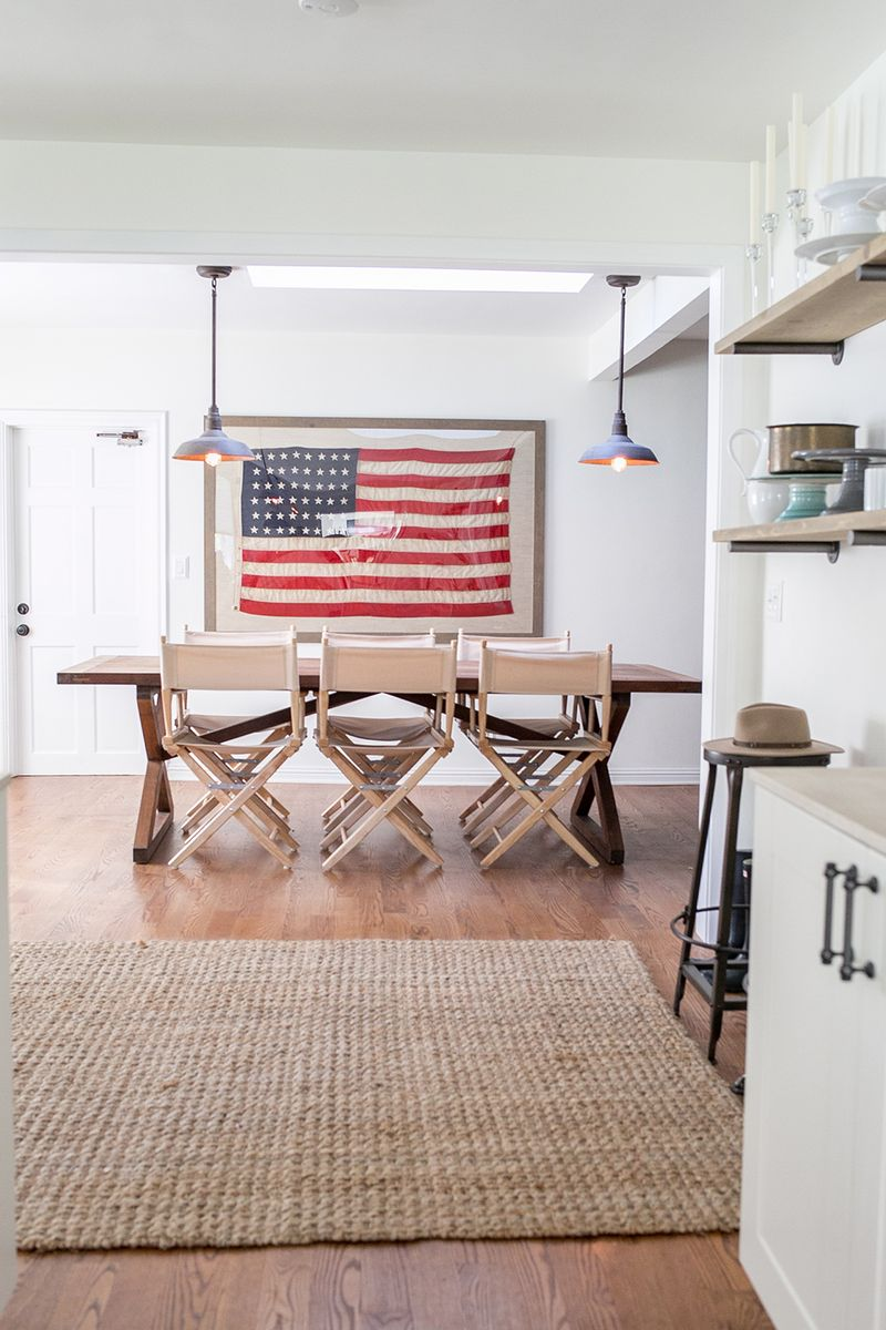 At home with eden passante a beautiful mess for American flag bedroom ideas