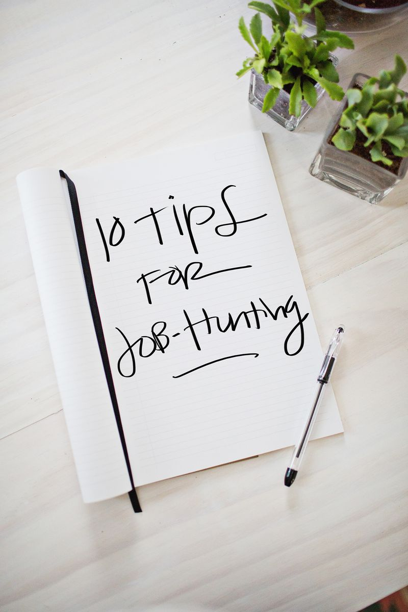 Tips for job hunting