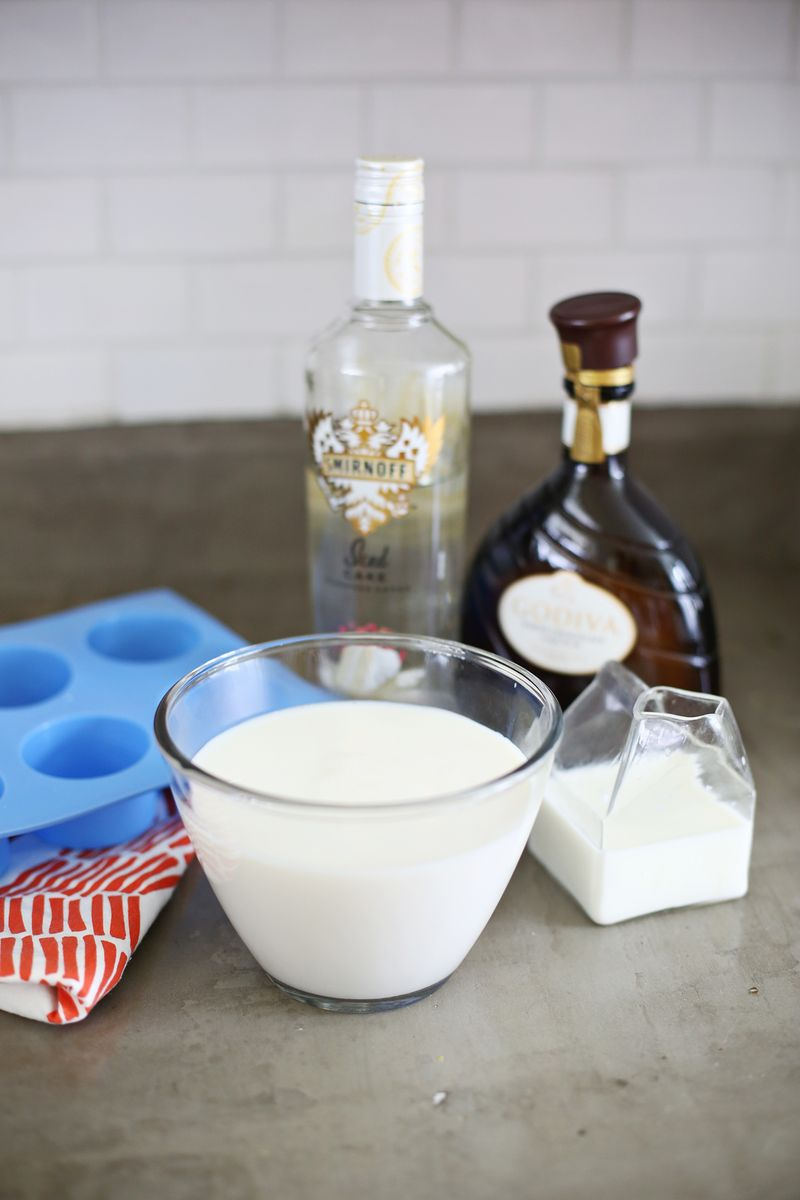Mix Up A Yummy Chocolate Cake Or Birthday Cake Shot