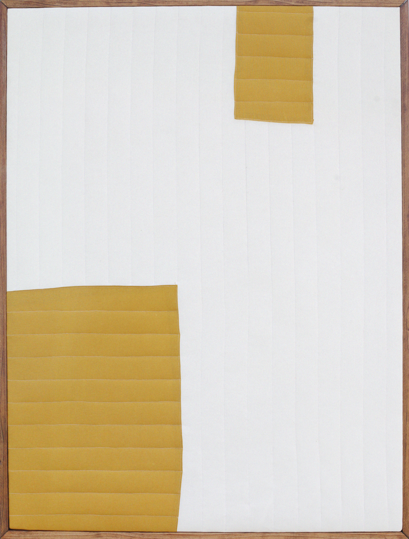 Make your own quilted modern art for a huge design impact!