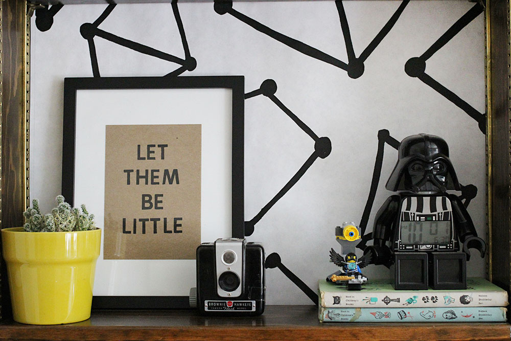 Let Them Be Little Print by Tina Aszmus
