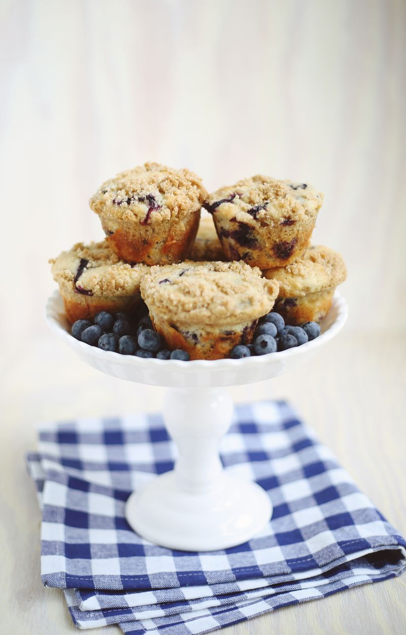 Lavenberry muffins