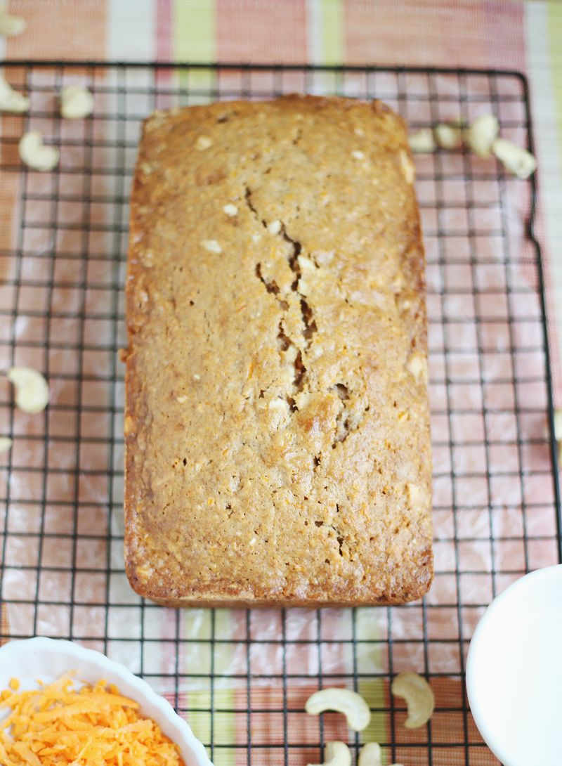 Best carrot cake bread