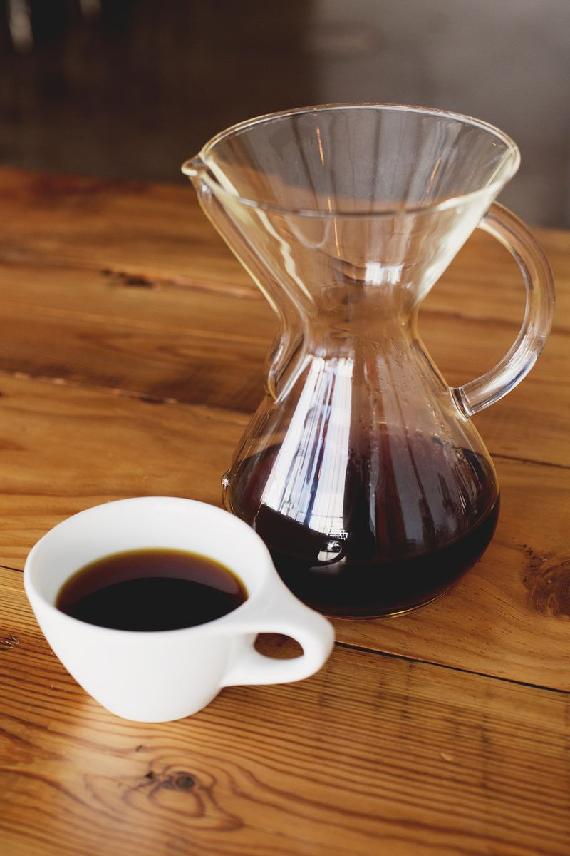 How to brew with a chemex