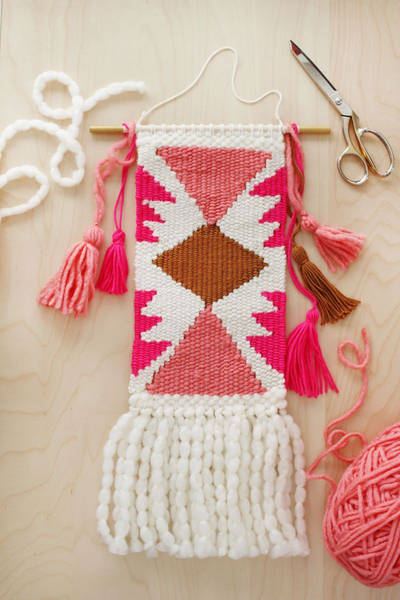 Hammock chair diy a beautiful mess - Weaving Class Creating Shapes And Getting Fancy