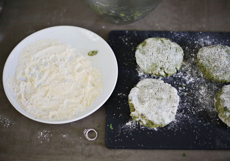 How to make baked falafel