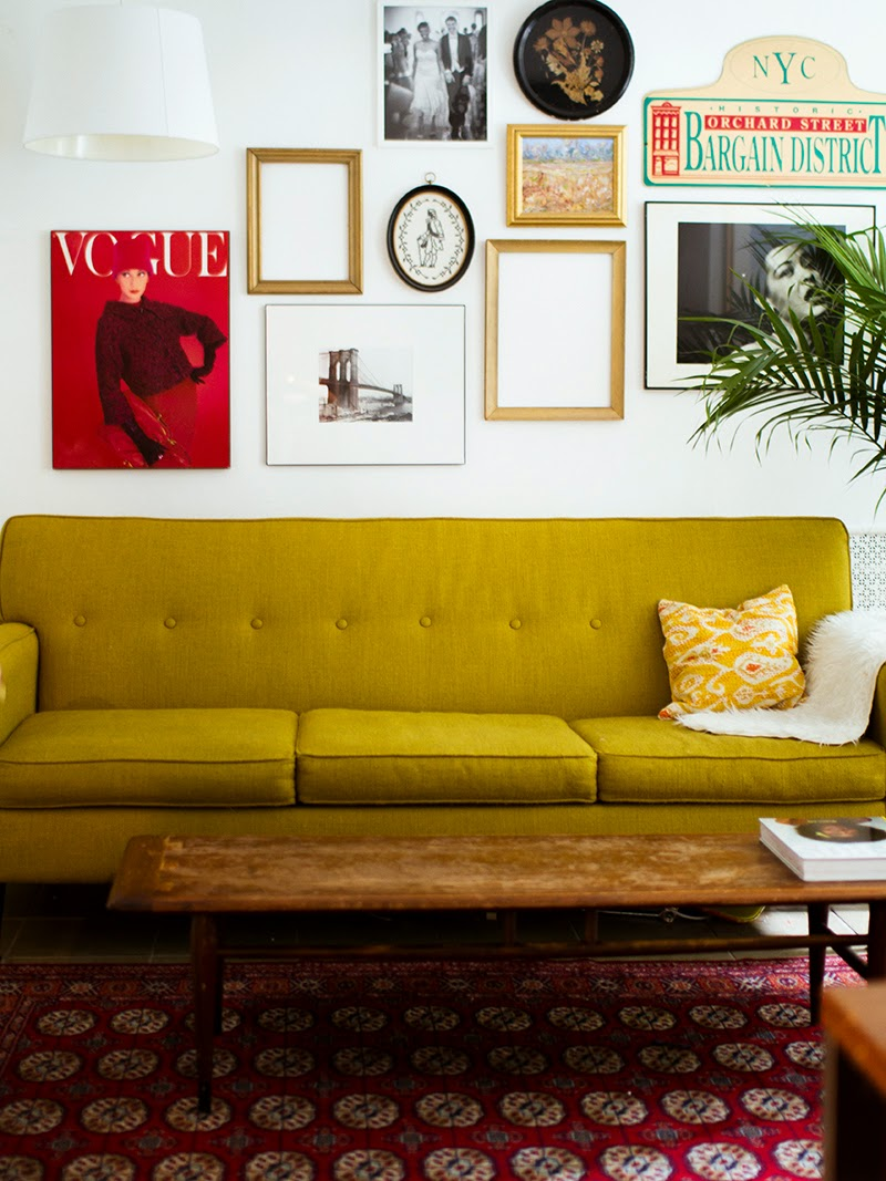 Love the vintage vibe of this space