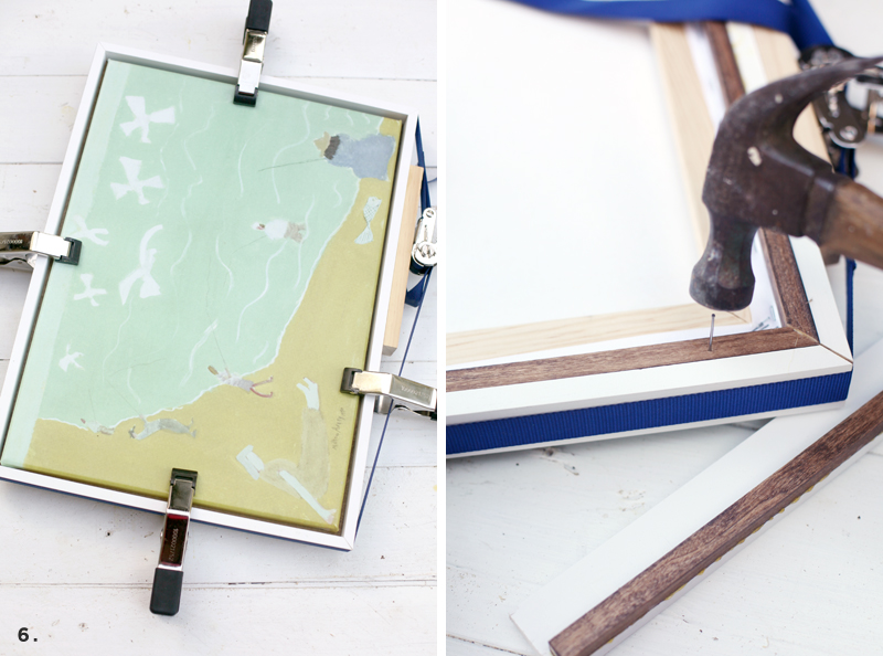 3 custom built frames you can make without any power tools