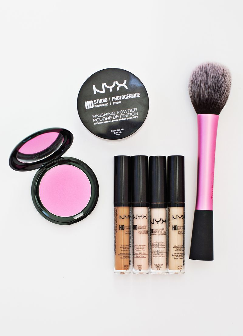Contouring with concealers - the essentials