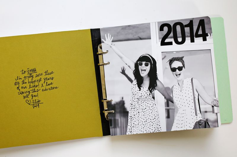 A fun gift idea! Sister photo book (click through for DIY details)