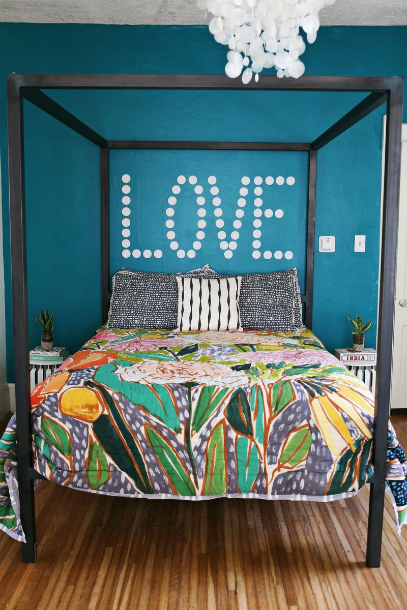 A Bright Bedroom Update - A Beautiful Mess