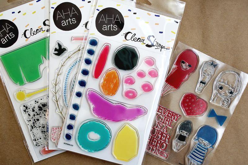 Aha Arts Stamps!