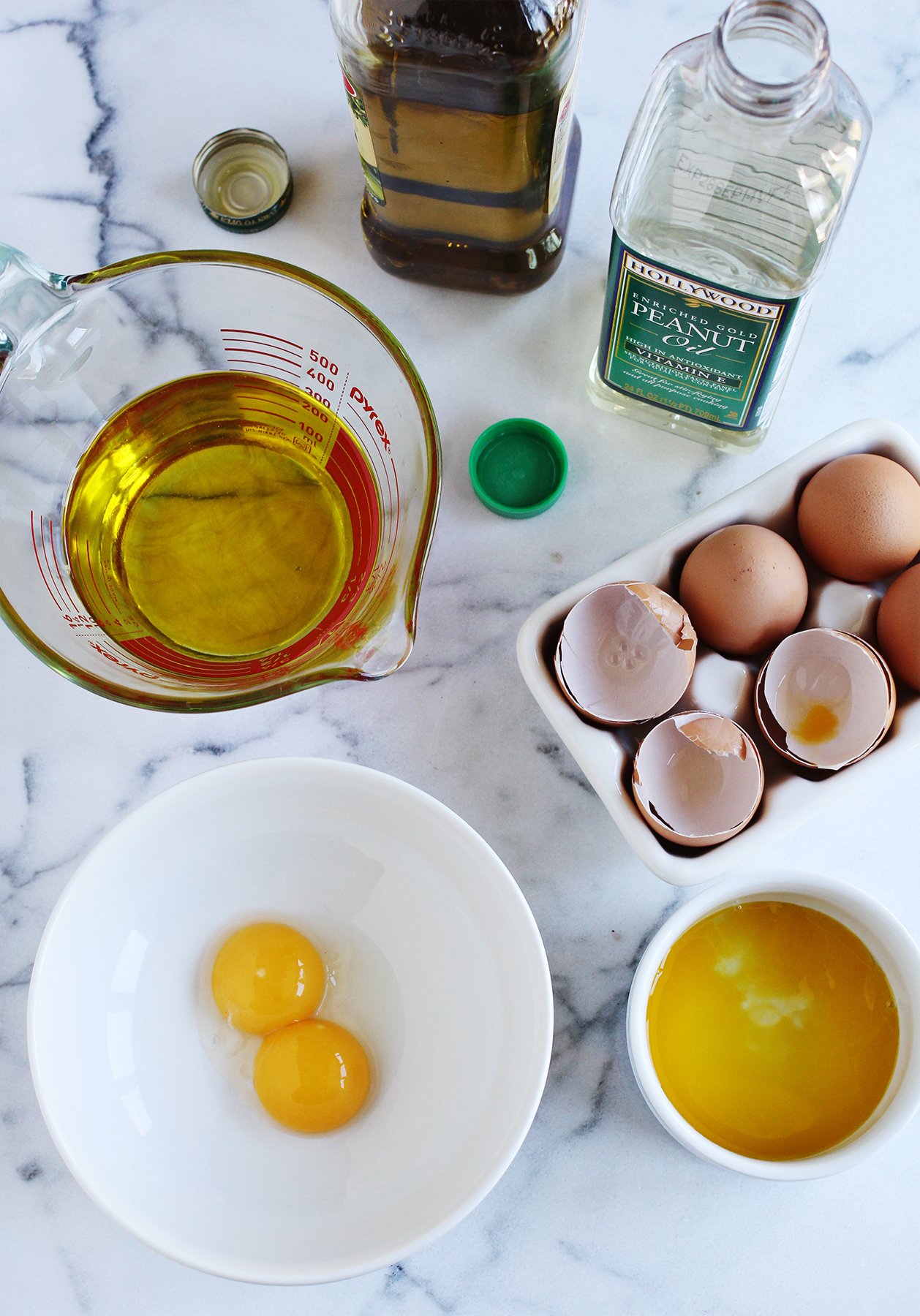 ... olive oil in place of some of the plainer oils to give your mayo a