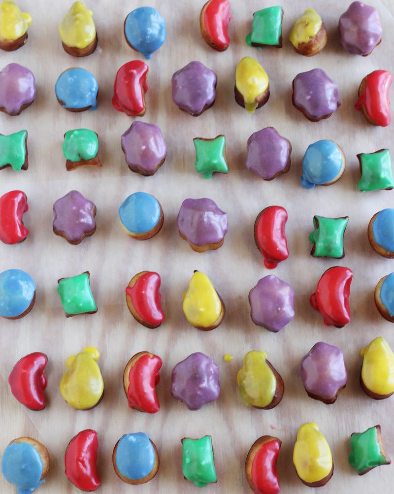 Candy crush donut holes!!!!