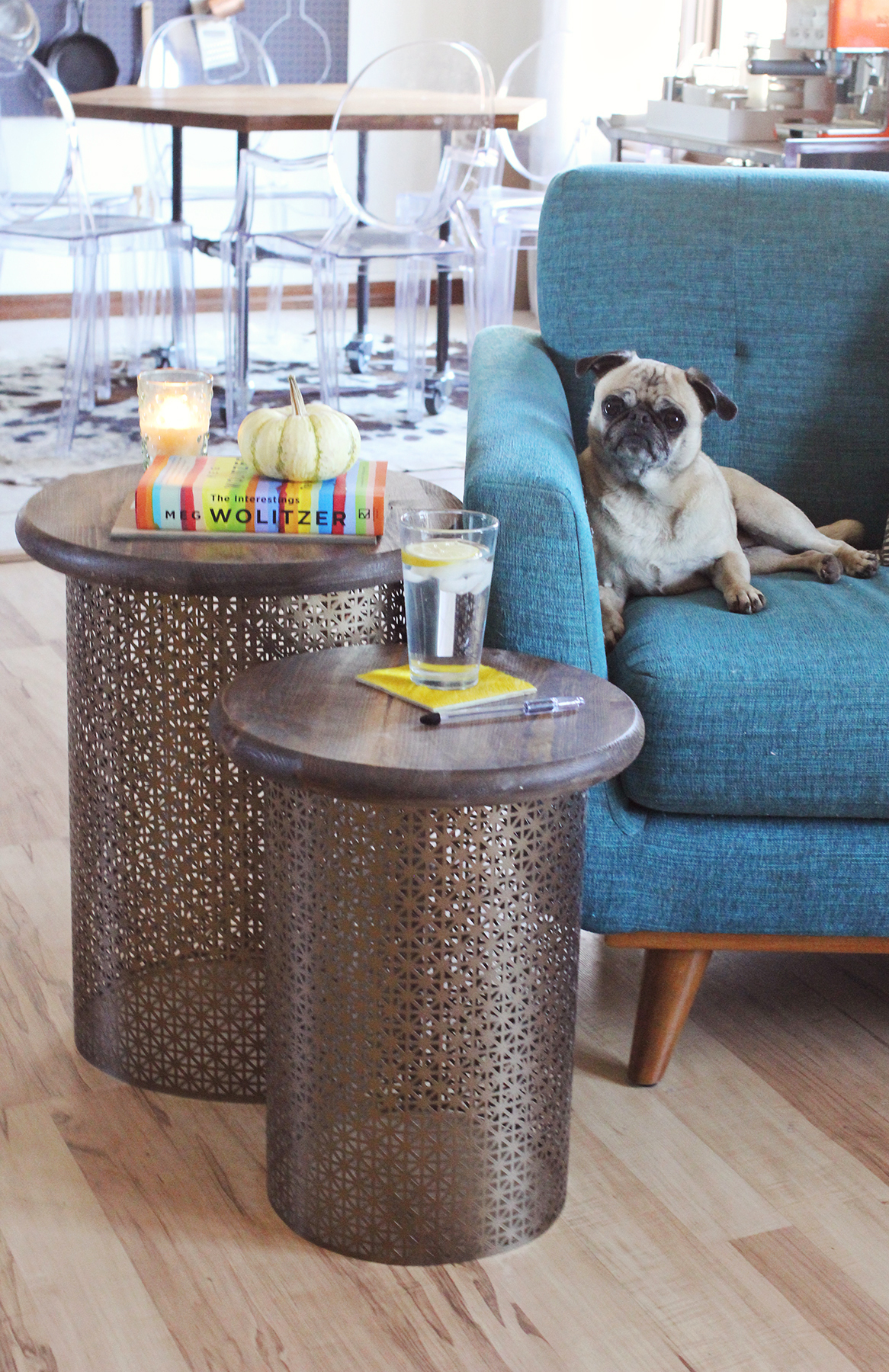 How to make retro style side tables