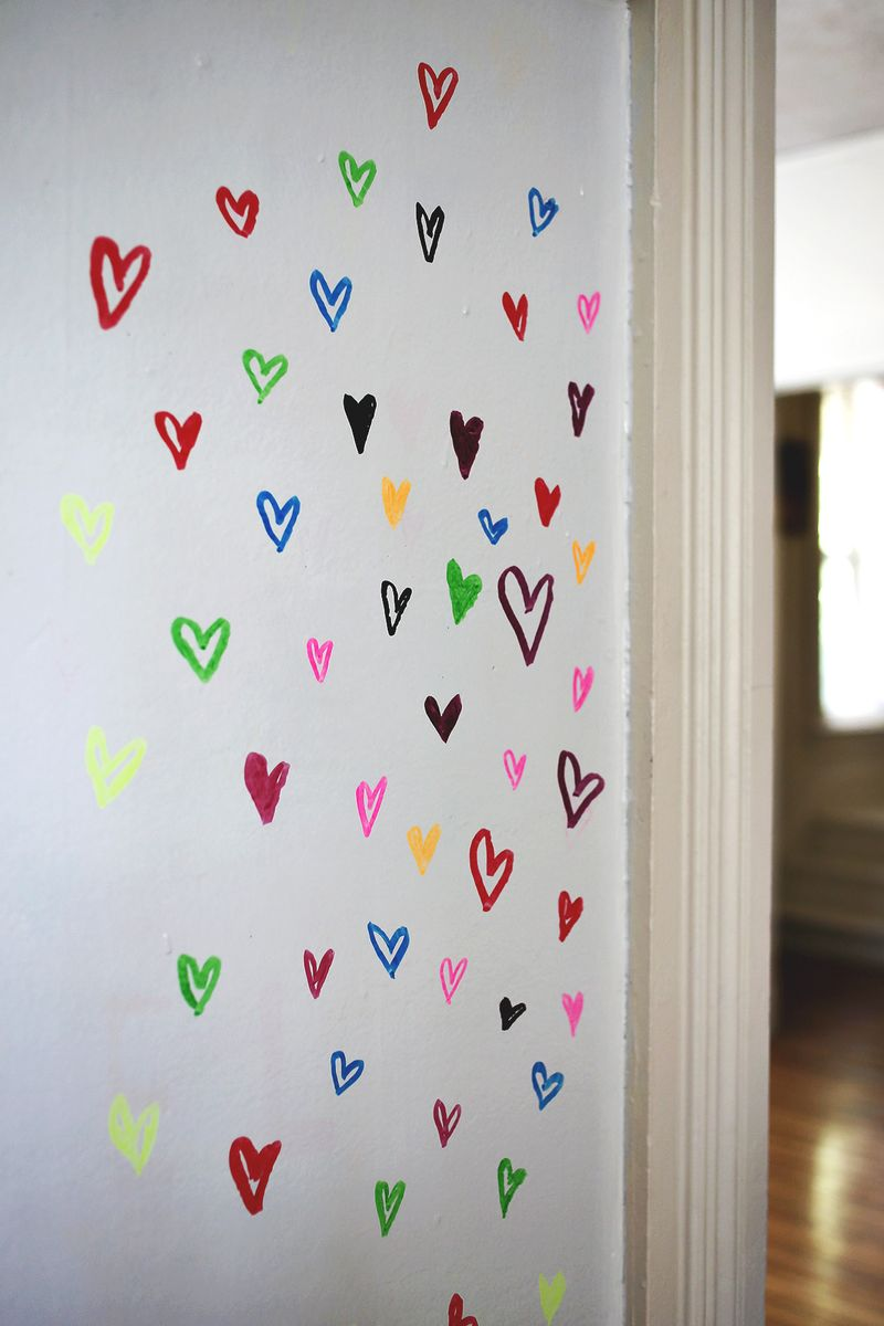 Dry erase wall