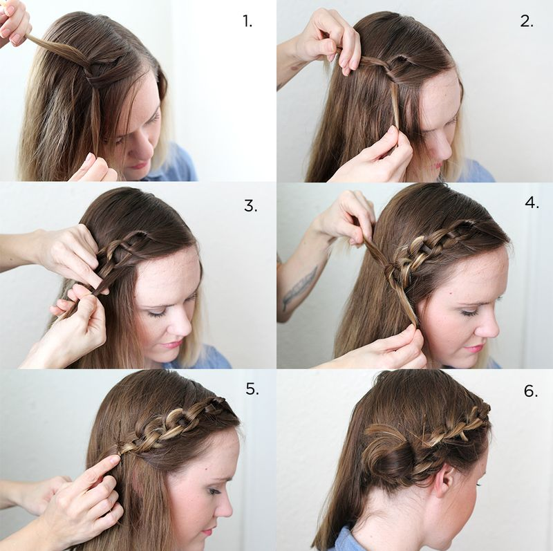 steps hair style how to style a chain braid a beautiful mess 8934 | 6a00d8358081ff69e201a51163864c970c 800wi