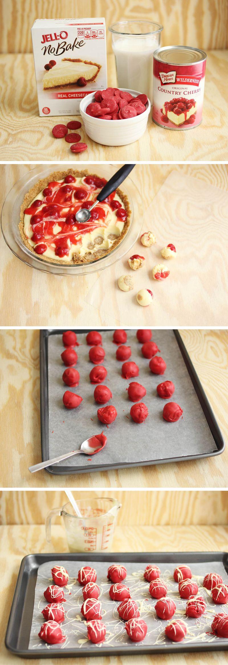 How to make no bake cheesecake bites