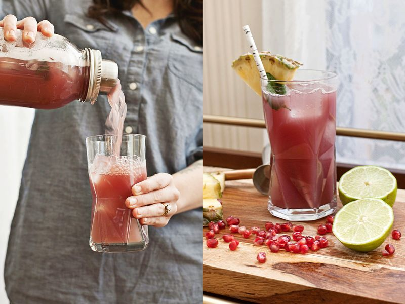 Sparkling Rum And Pomegranate Punch Recipes — Dishmaps
