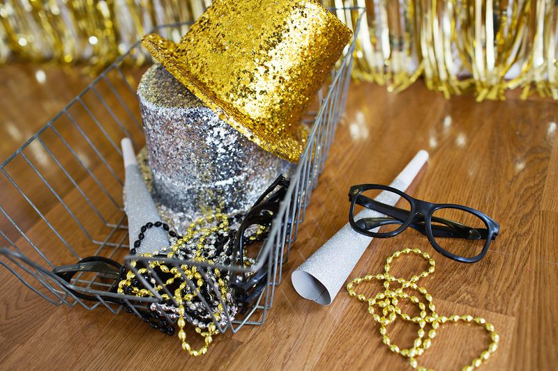 Make Your Own Home Photo Booth abeautifulmess.com