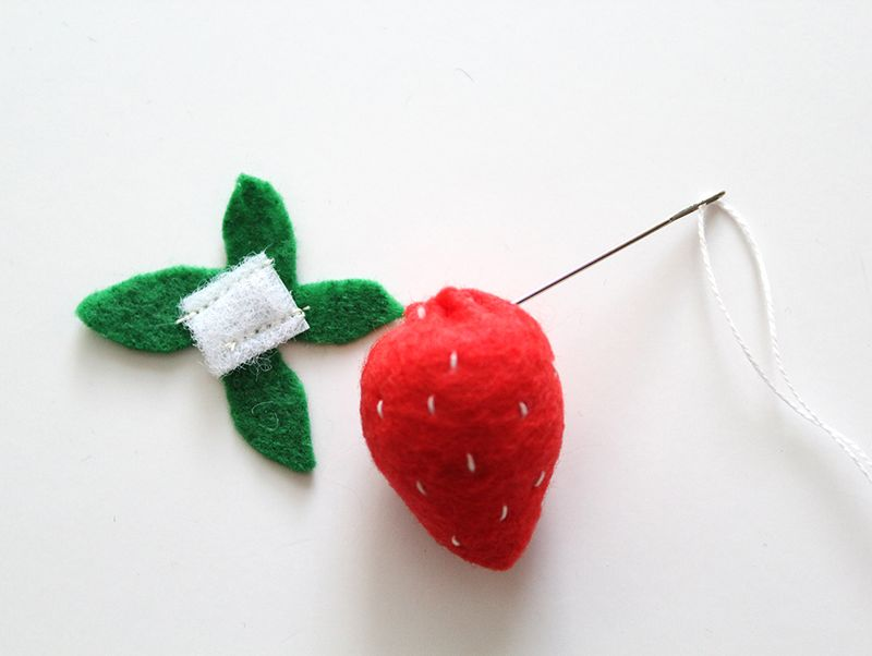 DIY Strawberry (click through for instructions)
