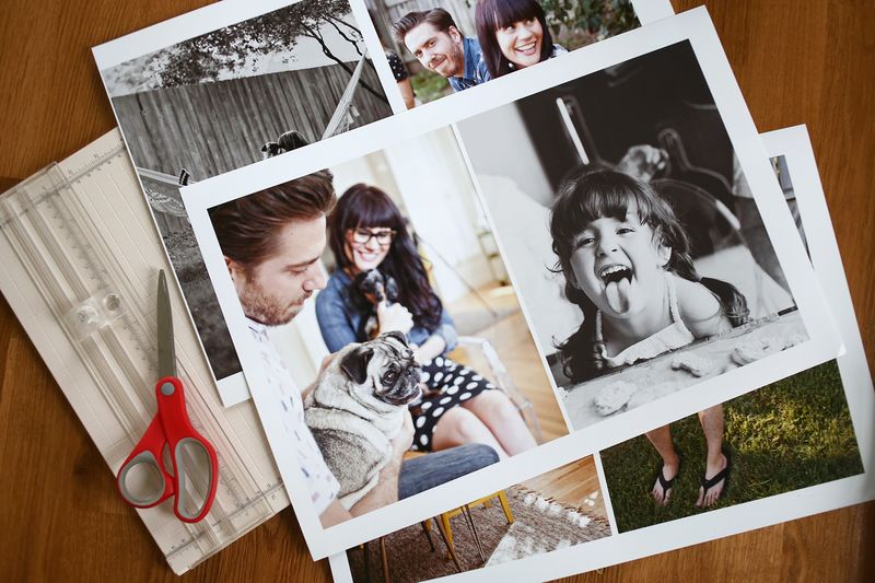 Full Page Photo Scrapbook Pages
