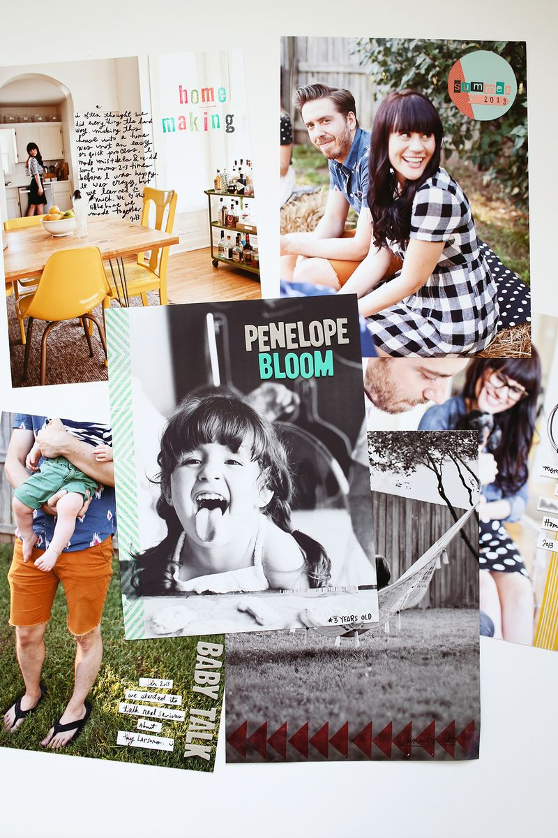 Full Page Photo Scrapbook Ideas A Beautiful Mess