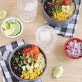 Quinoa Burrito Bowls - March 31, 2014
