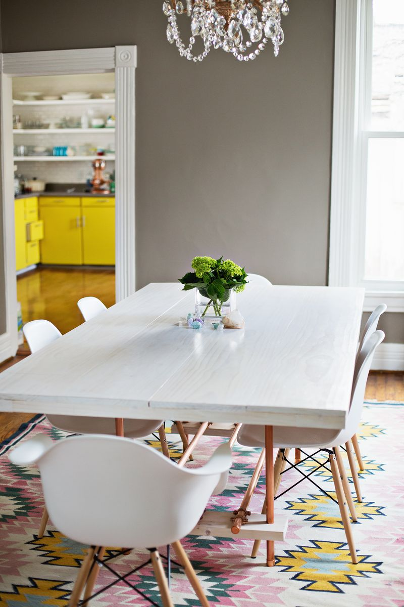 DIY Dining Room Table (with Copper Legs!) - A Beautiful Mess