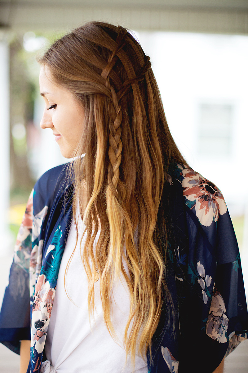 How To Style A Double Waterfall Twist A Beautiful Mess