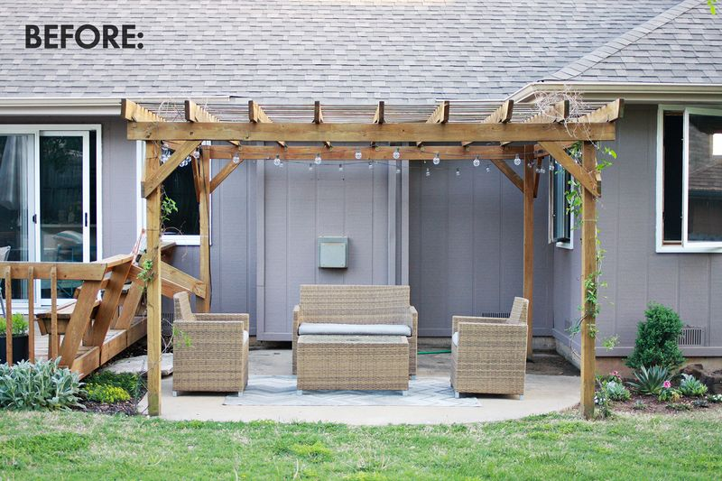 Make Your Own Outdoor Curtains! - Make Your Own Outdoor Pergola Curtains! €� A Beautiful Mess