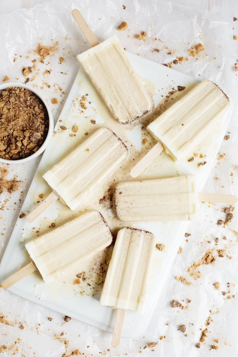 Brown butter popsicles (click through for recipe)
