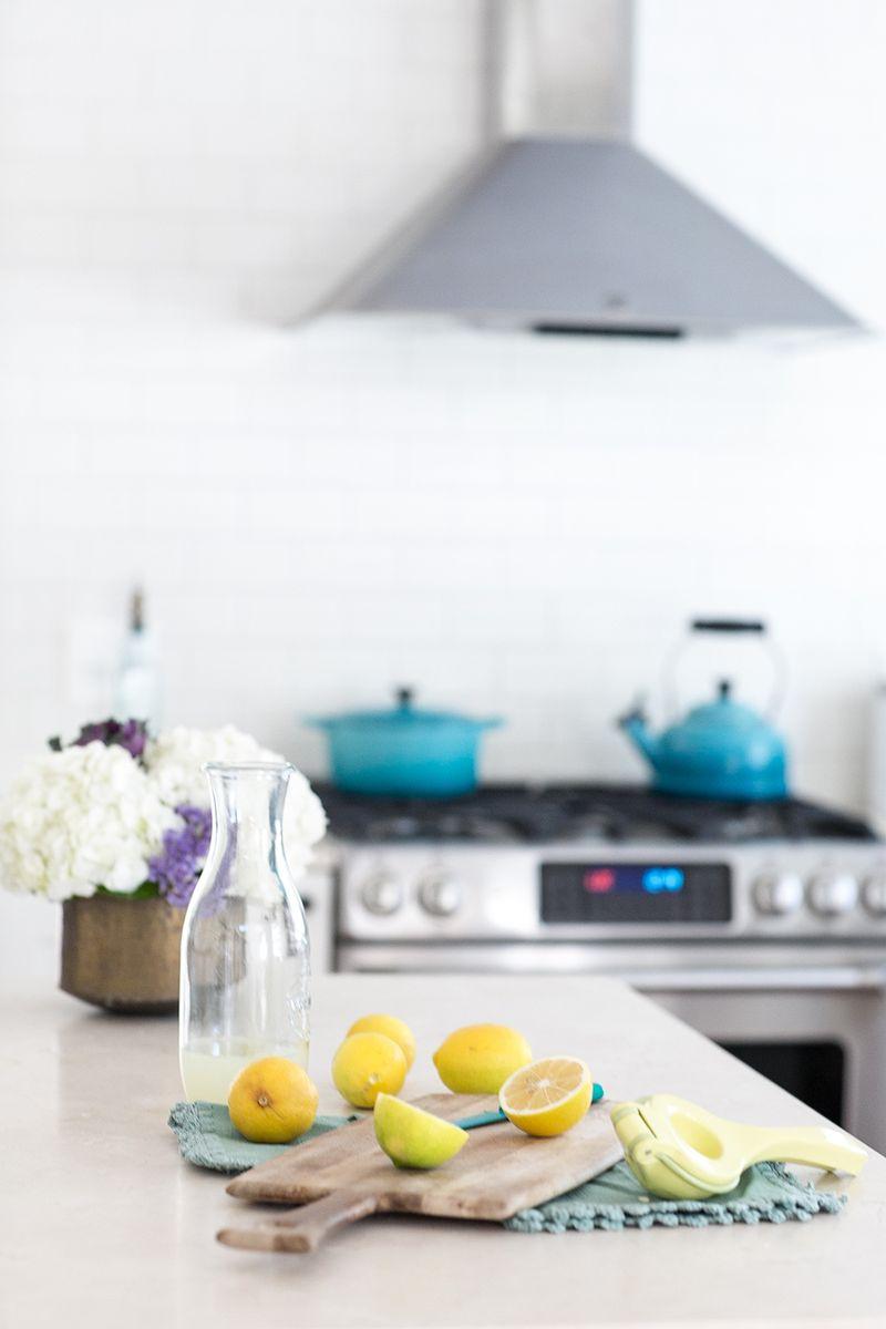 Gorgeous white kitchen