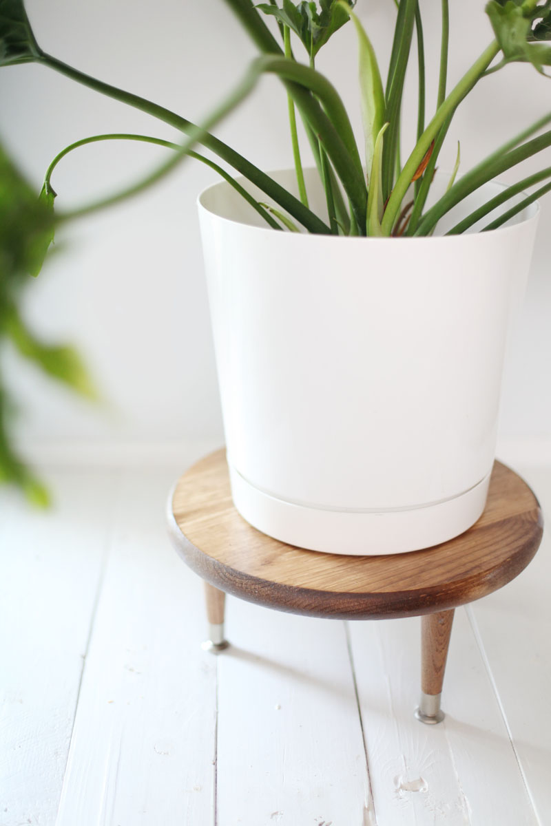 Mid Century Plant Stand Diy Midcentury Style Plant Stand A Beautiful Mess