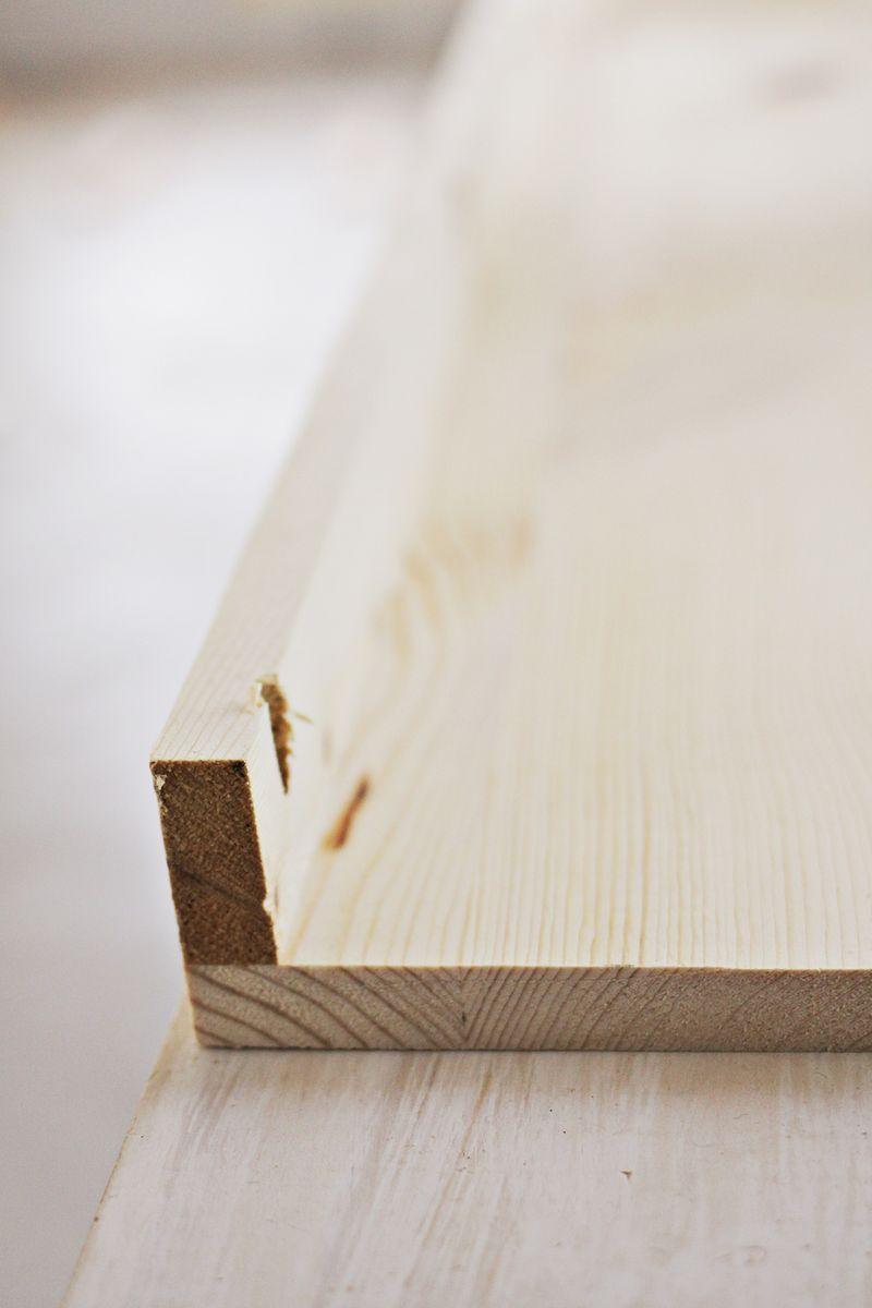 DIY floating shelves (pocket holes)