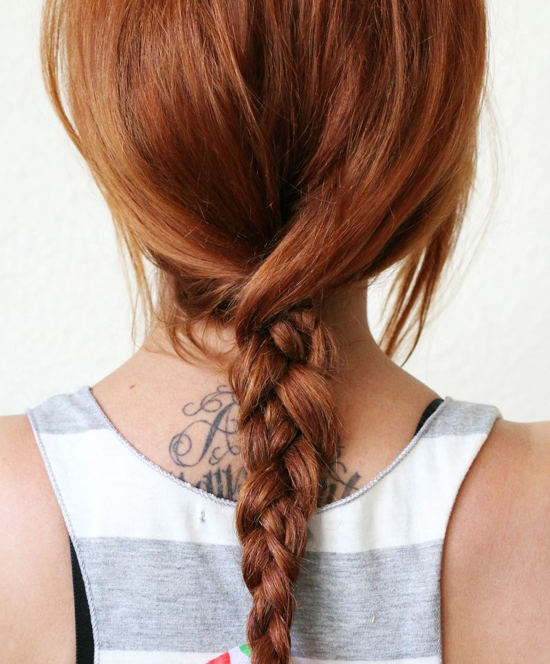 Textured Summer Braid DIY